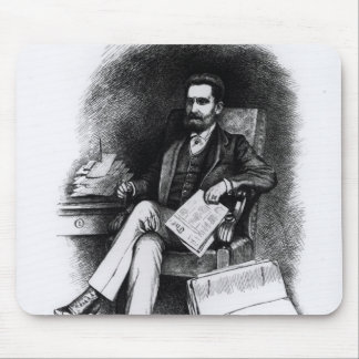 Joseph Pulitzer  from 'The Curio', 1887 Mouse Pad
