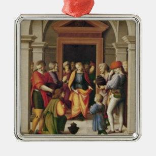 Joseph receives his Brothers, c. 1515 Metal Ornament