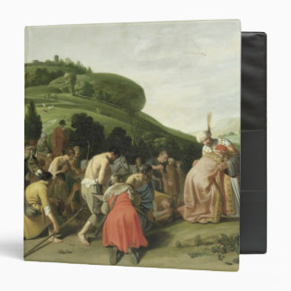 Joseph Receives his Father in Egypt, 1628 Binder