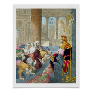 Joseph Receiving the Homage of his Brethren, from Poster