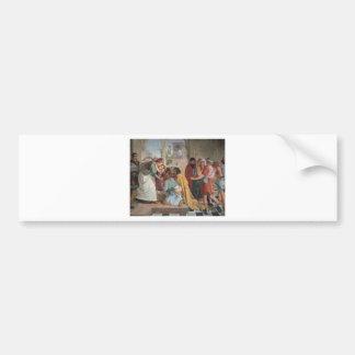 Joseph Reveals Himself to His Brothers - Cornelius Bumper Sticker