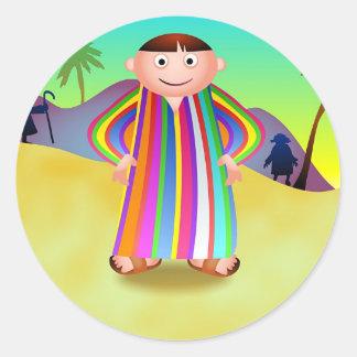 Joseph Round Sticker