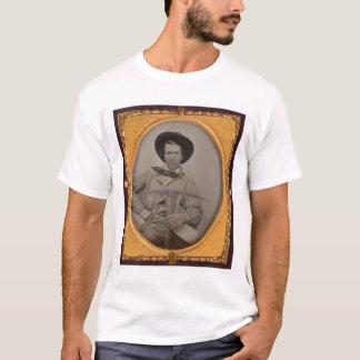 Joseph Sharp, with a pick axe, pan and gun (40010) T-Shirt