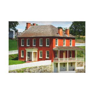 Joseph Sherrick House Antietam Wrapped Canvas