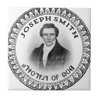 Joseph Smith el profeta de dios Azulejo Cuadrado Pequeño