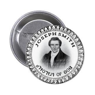 Joseph Smith el profeta de dios Pin Redondo De 2 Pulgadas