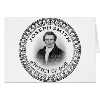 Joseph Smith el profeta de dios Tarjeta De Felicitación