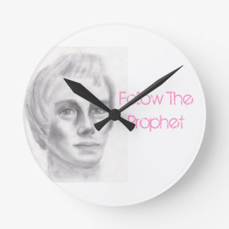 Joseph Smith mormon LDS prophet Round Clock