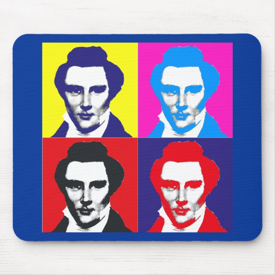 Joseph Smith Pop Art Mouse Pad
