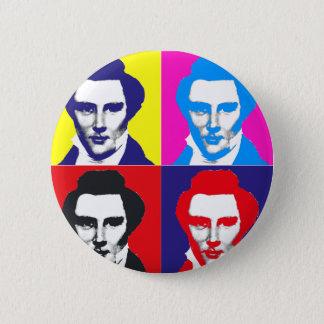 Joseph Smith Pop Art Pinback Button