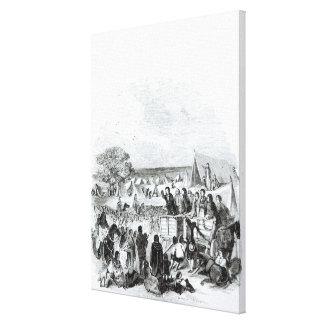 Joseph Smith Preaching in the Wilderness Canvas Print