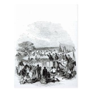 Joseph Smith Preaching in the Wilderness Postcard