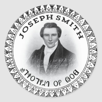 Joseph Smith THE Prophet of God Classic Round Sticker