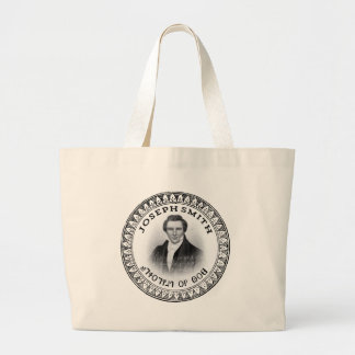 Joseph Smith THE Prophet of God Large Tote Bag
