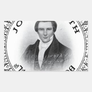 Joseph Smith THE Prophet of God Rectangular Sticker