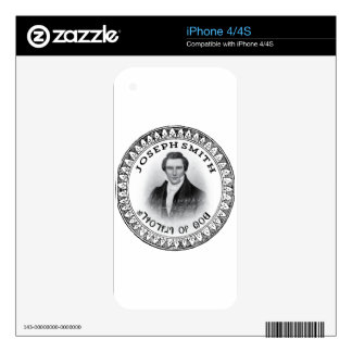 Joseph Smith THE Prophet of God Skins For The iPhone 4