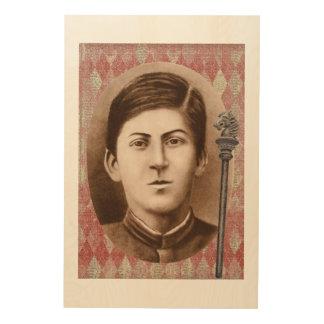 Joseph Stalin 14 años Cuadros De Madera