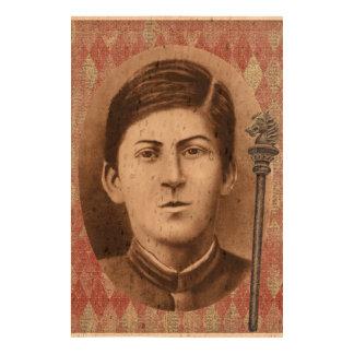 Joseph Stalin 14 años Impresiones En Corcho
