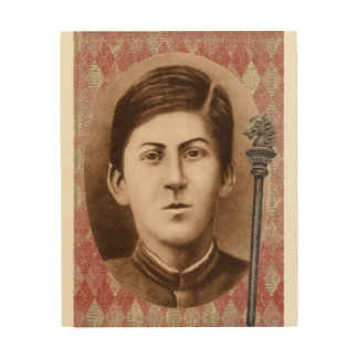 Joseph Stalin 14 años Impresiones En Madera