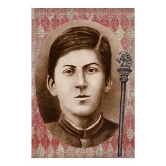 Joseph Stalin 14 años Posters