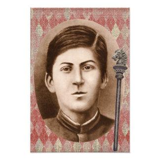Joseph Stalin 14 años Impresión Fotográfica