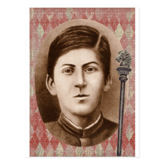Joseph Stalin 14 años Postal