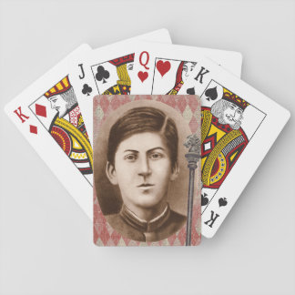 Joseph Stalin 14 years old Playing Cards