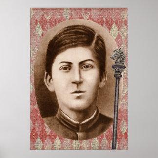 Joseph Stalin 14 years old Print
