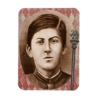 Joseph Stalin 14 years old Rectangular Photo Magnet