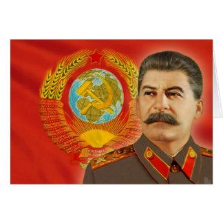 Joseph Stalin Card