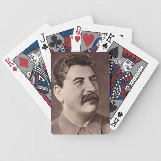 Joseph Stalin Playing Cards
