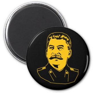 Joseph Stalin Portrait 2 Inch Round Magnet