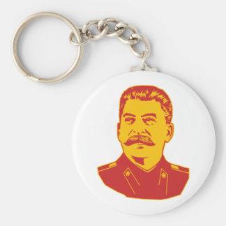 Joseph Stalin Portrait Basic Round Button Keychain