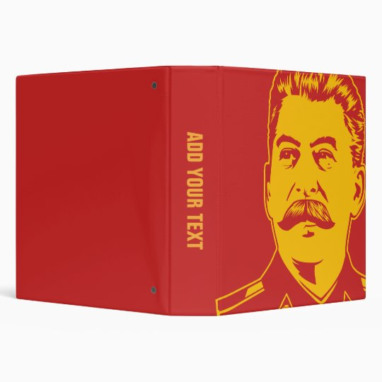 Joseph Stalin Portrait Binder