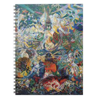 Joseph Stella - batalla de luces. Coney Island Libreta Espiral