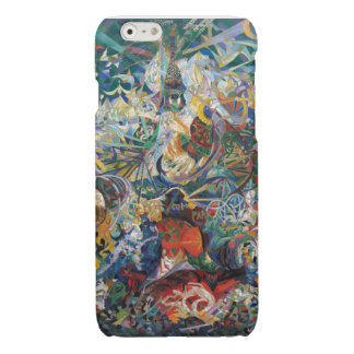 Joseph Stella - Battle of Lights. Coney Island Glossy iPhone 6 Case