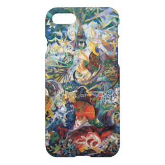 Joseph Stella - Battle of Lights. Coney Island iPhone 7 Case