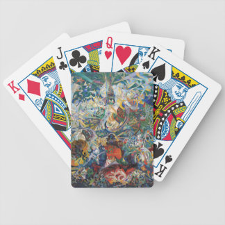 Joseph Stella - Battle of Lights. Coney Island Bicycle Playing Cards