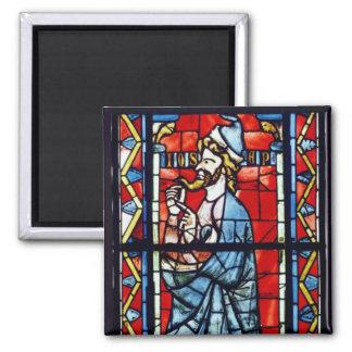 Joseph the Patriarch, c.1270-75 2 Inch Square Magnet