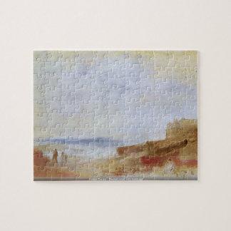 Joseph Turner -Coastal scene with buildings puzzle