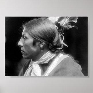 Joseph Two Bulls Sioux Poster