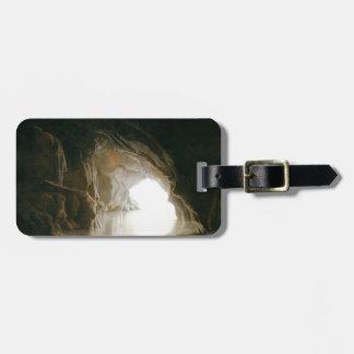 Joseph Wright- A Cavern, Evening Luggage Tag