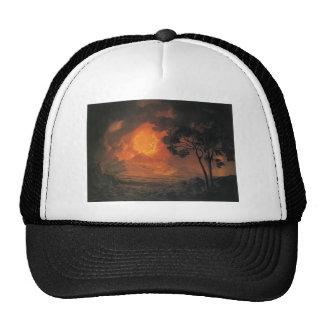 Joseph Wright- An Eruption of Mount Vesuvius Trucker Hat