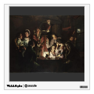 Joseph Wright- An Experiment on a Bird in Air Pump Room Graphics