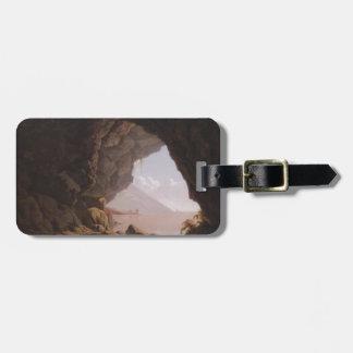 Joseph Wright- Cavern, Near Naples Luggage Tags