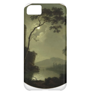 Joseph Wright- Lake with Castle on a Hill iPhone 5C Cover
