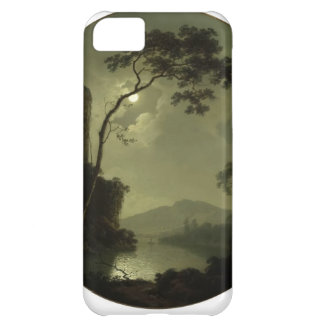 Joseph Wright- Lake with Castle on a Hill Case For iPhone 5C