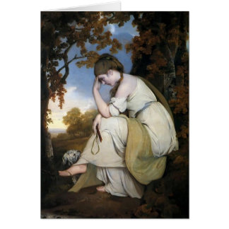 Joseph Wright-Maria,Companion to Picture of Edwin Greeting Card