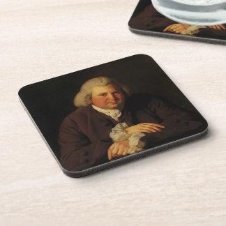 Joseph Wright- Portrait of Dr Erasmus Darwin Drink Coaster