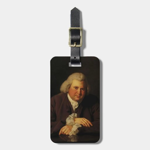 Joseph Wright- Portrait of Dr Erasmus Darwin Tags For Bags